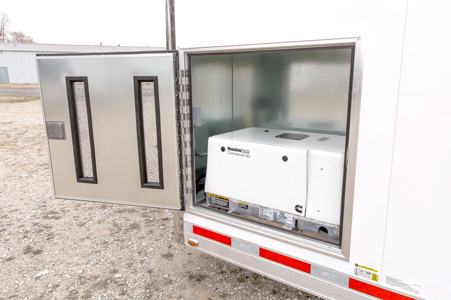 GENERATOR COMPARTMENT - INSULATED - IN BASE CABINET